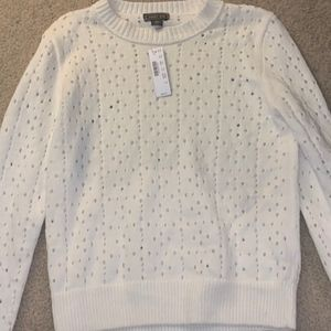 Comfy, Soft, and Fluffy JCrew S=Sweater NWT!